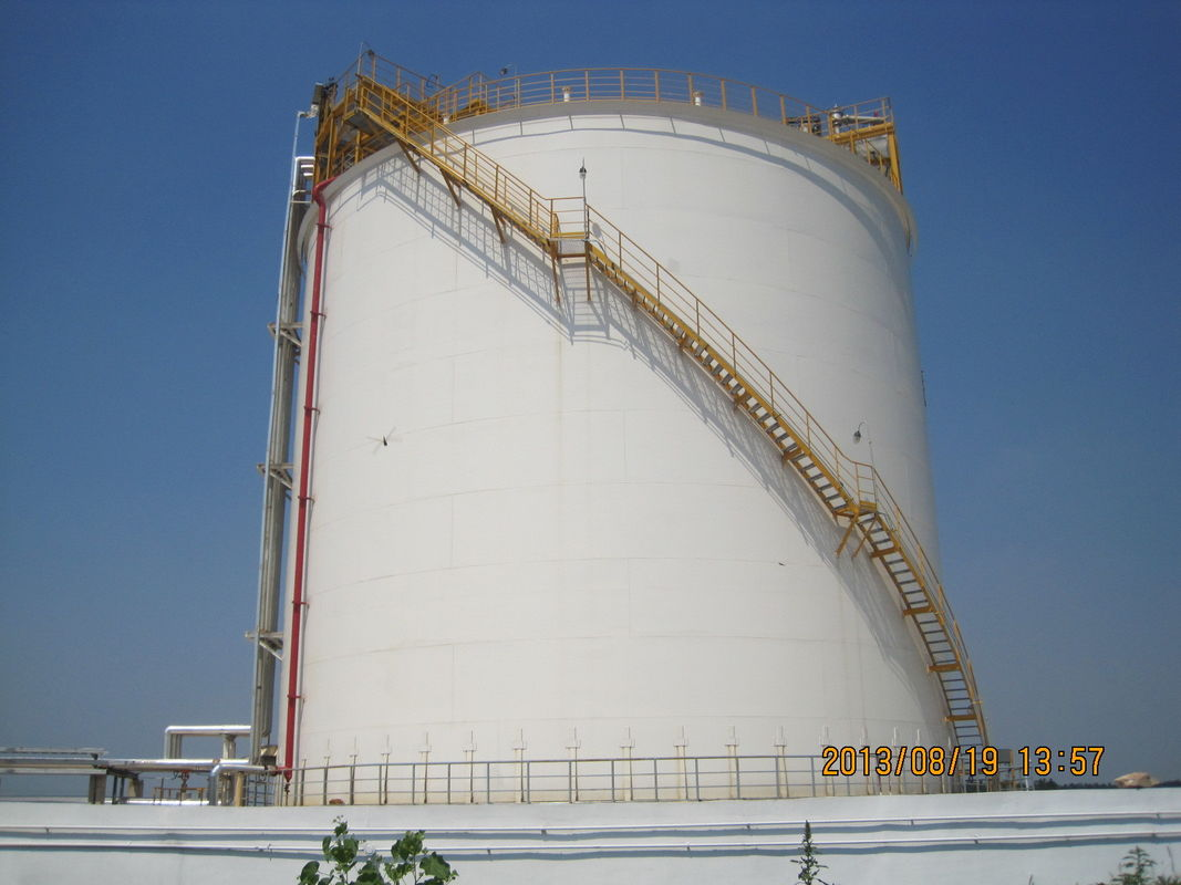 5000m3 Single Containment LNG Storage Tank Self support Double Layers